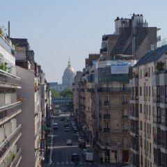 Отель Hôtel Alyss Saphir Cambronne Eiffel балкон