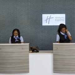 Отель Holiday Inn Express London - ExCeL интерьер отеля