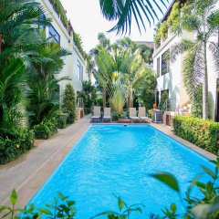 Palm Oasis Boutique Hotel бассейн фото 2