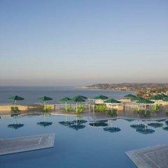 Отель Mitsis Family Village Beach Hotel Греция, Нисирос - отзывы, цены и фото номеров - забронировать отель Mitsis Family Village Beach Hotel онлайн пляж фото 2