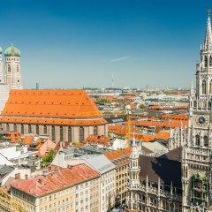 Отель Hauser an der Universität Германия, Мюнхен - 1 отзыв об отеле, цены и фото номеров - забронировать отель Hauser an der Universität онлайн балкон