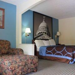 Отель Howard Johnson by Wyndham Vicksburg удобства в номере