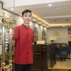 Отель Mayflower Hotel Hanoi Вьетнам, Ханой - отзывы, цены и фото номеров - забронировать отель Mayflower Hotel Hanoi онлайн интерьер отеля фото 2