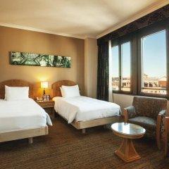Отель Hilton Milan 4* Представительский номер с различными типами кроватей фото 4