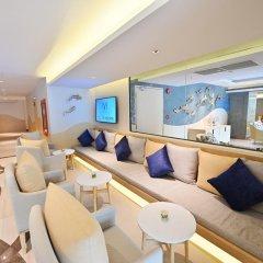Отель M Pattaya Hotel Таиланд, Паттайя - отзывы, цены и фото номеров - забронировать отель M Pattaya Hotel онлайн интерьер отеля