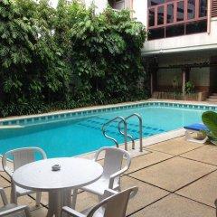 Отель Pt Court Бангкок бассейн