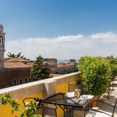 Bellini Hotel Венеция балкон