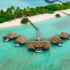 Отель Sheraton Maldives Full Moon Resort & Spa фитнесс-зал фото 3