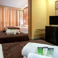 Отель Silken Puerta de Valencia Испания, Валенсия - 5 отзывов об отеле, цены и фото номеров - забронировать отель Silken Puerta de Valencia онлайн удобства в номере фото 2