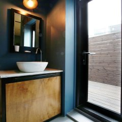 Отель KOTEL YAJA sadang art gallery ванная