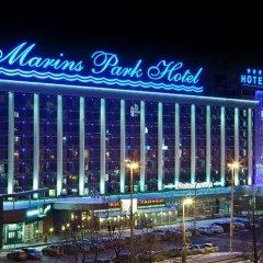 Гостиница Маринс Парк в Екатеринбурге - забронировать гостиницу Маринс Парк, цены и фото номеров Екатеринбург вид на фасад фото 2
