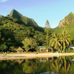 Отель Linareva Moorea Beach Resort Французская Полинезия, Муреа - отзывы, цены и фото номеров - забронировать отель Linareva Moorea Beach Resort онлайн приотельная территория фото 2