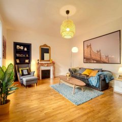 Апартаменты Apartment With 2 Bedrooms in Boulogne-billancourt, With Furnished Terrace and Wifi Булонь-Бийанкур фото 5