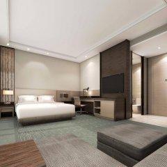 Отель Hyatt Place Shanghai Hongqiao CBD Китай, Шанхай - отзывы, цены и фото номеров - забронировать отель Hyatt Place Shanghai Hongqiao CBD онлайн комната для гостей фото 4