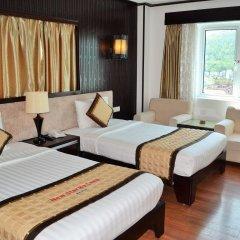 Muong Thanh Three Star Hotel Халонг комната для гостей фото 4