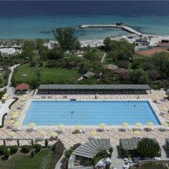 Отель Athos Palace пляж фото 2