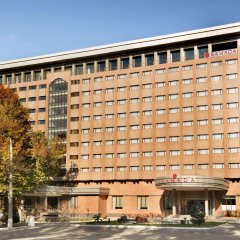 Отель Рамада Ташкент парковка