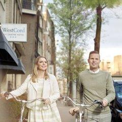 Отель Westcord City Centre Амстердам приотельная территория фото 3