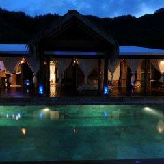 Отель Polynesian Dream Lodge Французская Полинезия, Муреа - отзывы, цены и фото номеров - забронировать отель Polynesian Dream Lodge онлайн бассейн