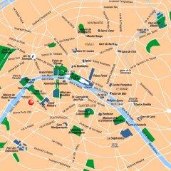 Отель Mercure Tour Eiffel Grenelle городской автобус