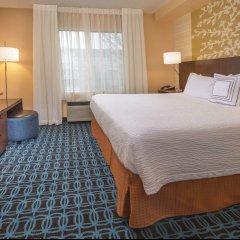 Отель Fairfield Inn & Suites by Marriott Frederick комната для гостей фото 3