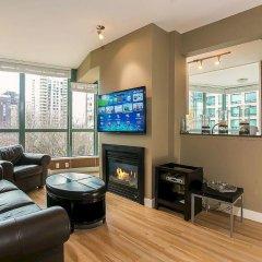 Отель Luxury 3 Bed Private Apartment in Central Downtown Канада, Ванкувер - отзывы, цены и фото номеров - забронировать отель Luxury 3 Bed Private Apartment in Central Downtown онлайн интерьер отеля