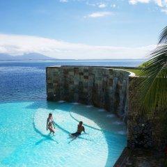 Отель Manava Suite Resort Tahiti бассейн фото 3