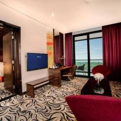 Radisson Blu Hotel, Abu Dhabi Yas Island комната для гостей фото 5