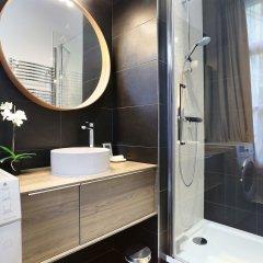 Отель Résidence Blanche Париж ванная фото 2
