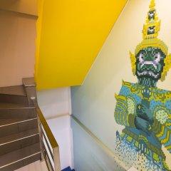 Pixellar Hostel Бангкок удобства в номере