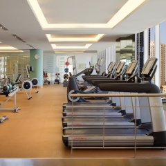 Отель Address Dubai Marina фитнесс-зал фото 3
