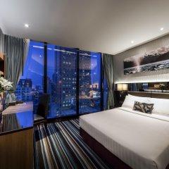 Отель The Continent Bangkok by Compass Hospitality 4* Улучшенный номер с различными типами кроватей фото 21