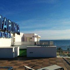 Отель Marina Испания, Курорт Росес - отзывы, цены и фото номеров - забронировать отель Marina онлайн пляж