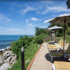 Отель Baan Krating Phuket Resort пляж фото 2