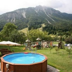 Hotel Posta Форни-ди-Сопра бассейн