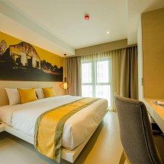 Отель Bizotel Bangkok Бангкок комната для гостей фото 3