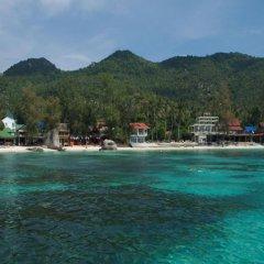 Отель Bans Diving Resort Таиланд, Остров Тау - отзывы, цены и фото номеров - забронировать отель Bans Diving Resort онлайн пляж фото 2