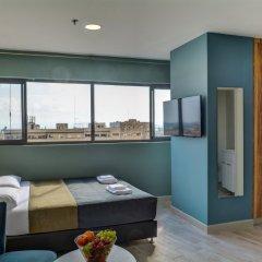Апарт- Diana Seaport Израиль, Хайфа - отзывы, цены и фото номеров - забронировать отель Апарт-Отель Diana Seaport онлайн комната для гостей фото 5