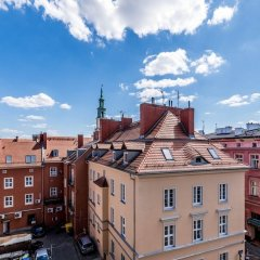 Отель Salon Zamkowa Premium Познань балкон