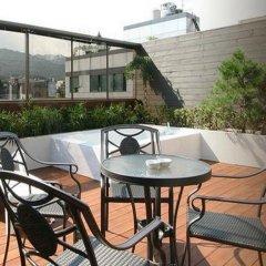 Отель Amare Южная Корея, Сеул - отзывы, цены и фото номеров - забронировать отель Amare онлайн балкон