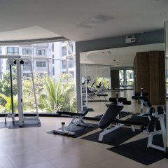 Отель Dusit Grand Park By Lurii Паттайя фитнесс-зал фото 2