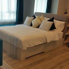 Отель Centric Sea Condo Pattaya Апартаменты с разными типами кроватей