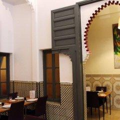 Отель Riad El Bir Марокко, Рабат - отзывы, цены и фото номеров - забронировать отель Riad El Bir онлайн питание фото 2