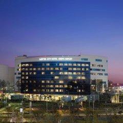 Отель Lotte City Hotel Gimpo Airport Южная Корея, Сеул - отзывы, цены и фото номеров - забронировать отель Lotte City Hotel Gimpo Airport онлайн вид на фасад