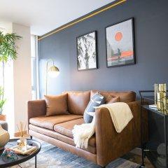 Апартаменты Beautiful Studio in Hipodromo Condesa Мехико комната для гостей фото 2