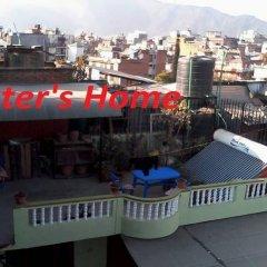 Отель Kathmandu Eco Hotel Непал, Катманду - отзывы, цены и фото номеров - забронировать отель Kathmandu Eco Hotel онлайн балкон