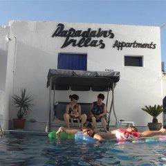 Отель Papadakis Villas Греция, Лимин-Херсонису - отзывы, цены и фото номеров - забронировать отель Papadakis Villas онлайн бассейн фото 3