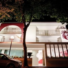 Hotel Le Lune Гаттео-а-Маре парковка