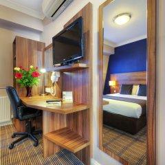 Отель Comfort Inn St Pancras - Kings Cross Великобритания, Лондон - отзывы, цены и фото номеров - забронировать отель Comfort Inn St Pancras - Kings Cross онлайн удобства в номере фото 2
