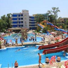 Отель Kuban Resort & AquaPark Болгария, Солнечный берег - отзывы, цены и фото номеров - забронировать отель Kuban Resort & AquaPark онлайн бассейн фото 3